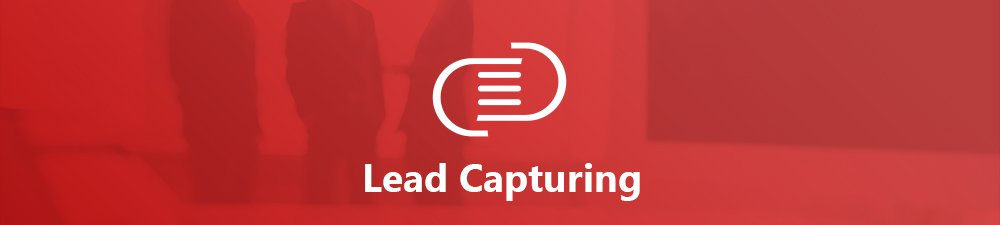 lead-capturing application