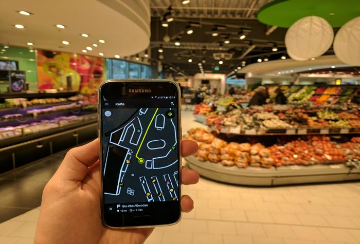 Navigation-Based Shopping Apps Digitizating The Retail Experience