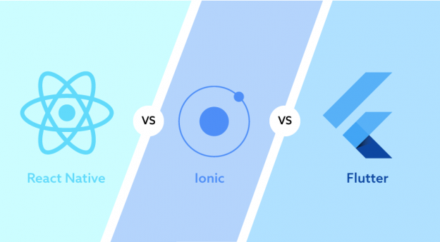 Flutter vs React Native vs Ionic - Which is Perfect For Mobile App Development in 2020?
