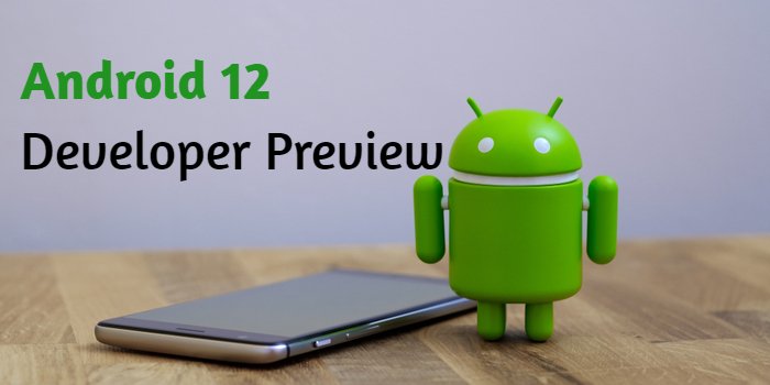Android 12 Developer